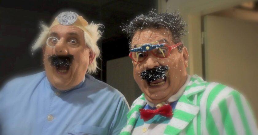 Tino y Tono, el programa de TV que inventó las carreras de cucarachas