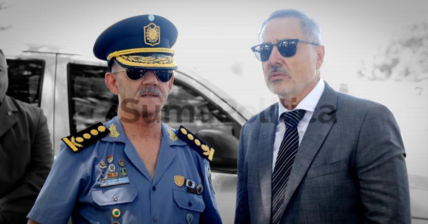 Se terminó la paz en el gabinete de seguridad de Perotti, el eslabón más sensible de su gestión