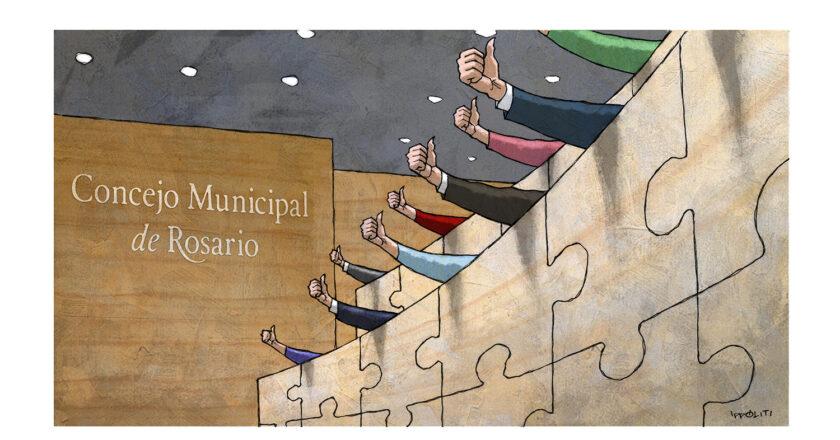 Se negoció todo: la clave para que en un Concejo ultra fragmentado reine la paz