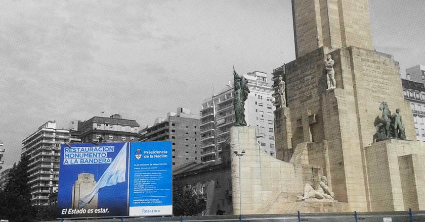 """El Monumento """"secuestrado"""": la historia de un fracaso que costó 150 millones"""