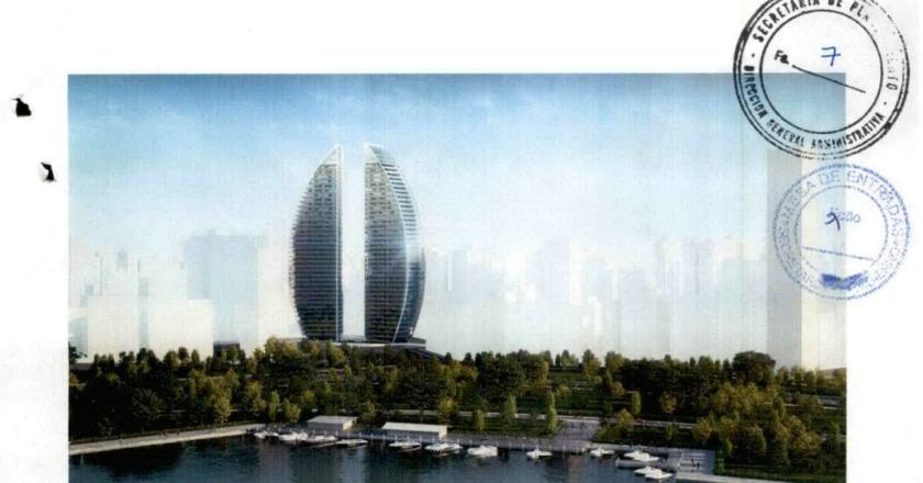 """Las torres de Dubai en barrio Martin que para Coto marcan la """"evolución"""" de Rosario"""