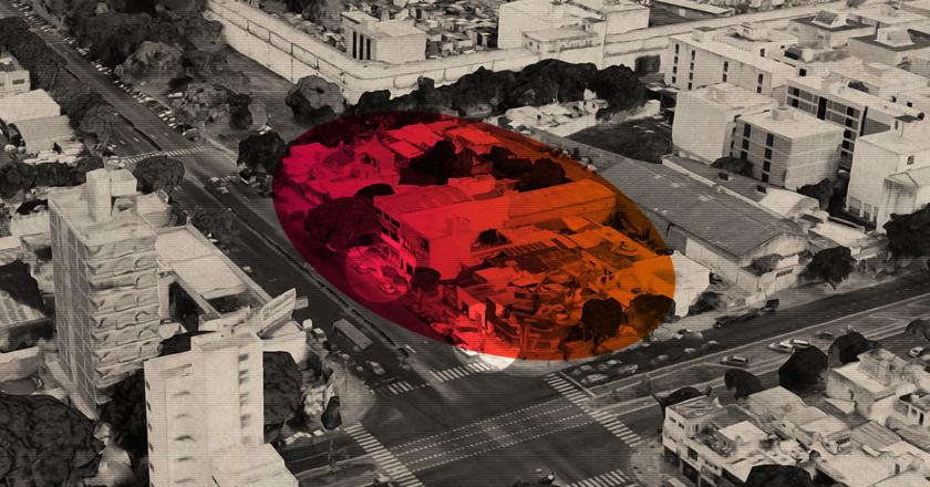 Una cuadra donde el Código Urbano y los negocios inmobiliarios van y vienen