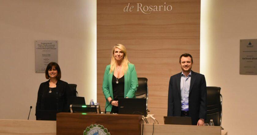 El Concejo ratificó el acuerdo político sin los   bloques mayoritarios del PJ y el PRO