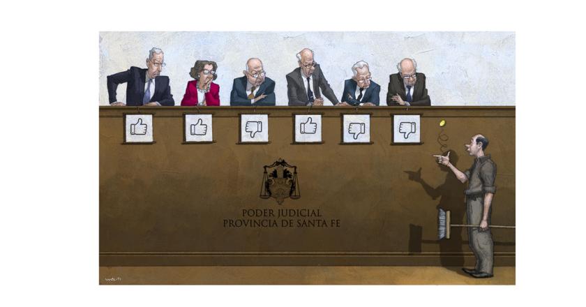 La Corte par de Santa Fe, tironeada entre fallos contradictorios y desempates al azar