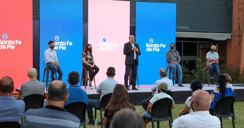 El peronismo se mostró unido y respaldó al gobierno de Perotti
